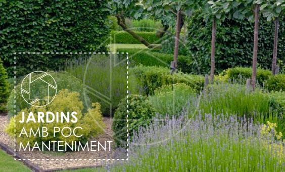 jardins amb poc manteniment a cases passives a girona i la costa brava
