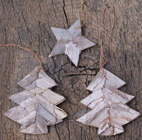 Del mismo modo, también puedes realizar árboles de Navidad.