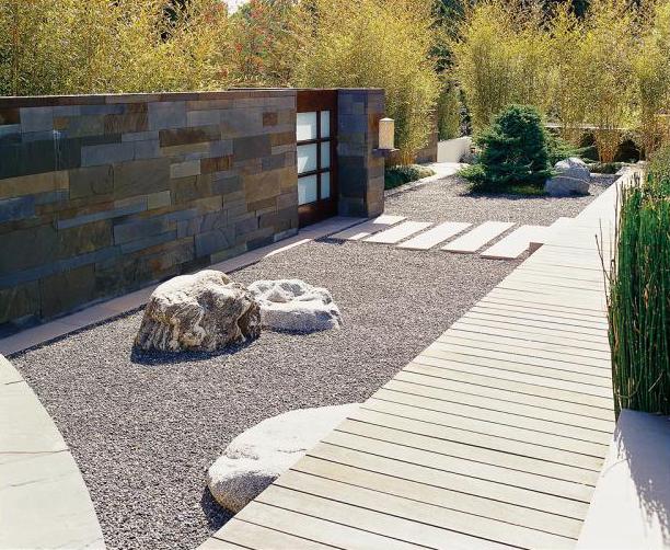 Jardines con poco mantenimiento ecohouses for Jardines minimalistas