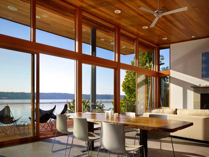 La construcción de casas ecológicas ayuda crear ambientes estables e higrométricamente equilibrados.