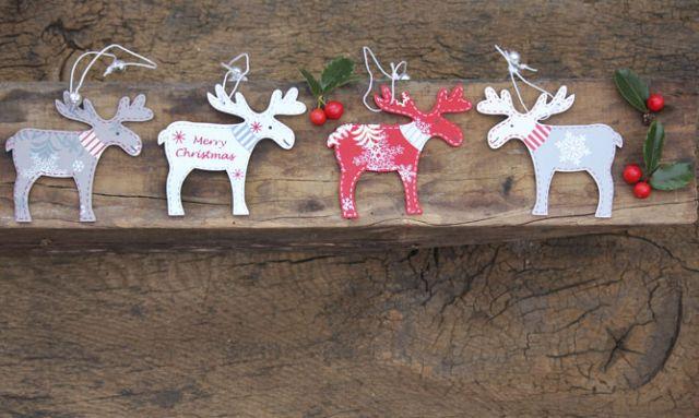 C mo hacer adornos de navidad de madera ecohouses - Adornos originales para navidad ...